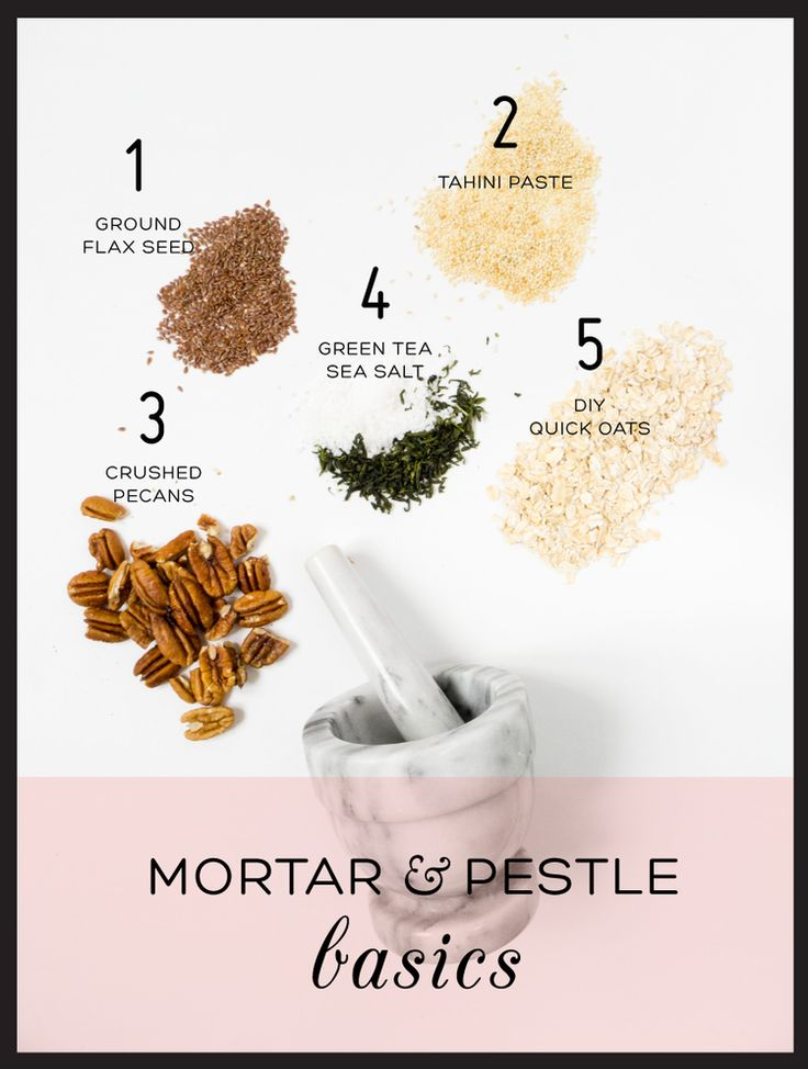 5 Things To Do With a Mortar And Pestle - a healthy kitchen tool to have!