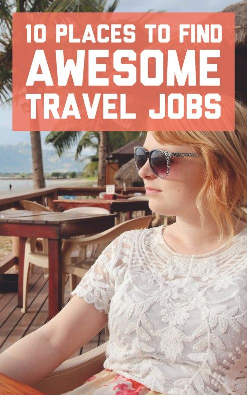 10 websites where you can find awesome travel jobs! / A Globe Well Travelled