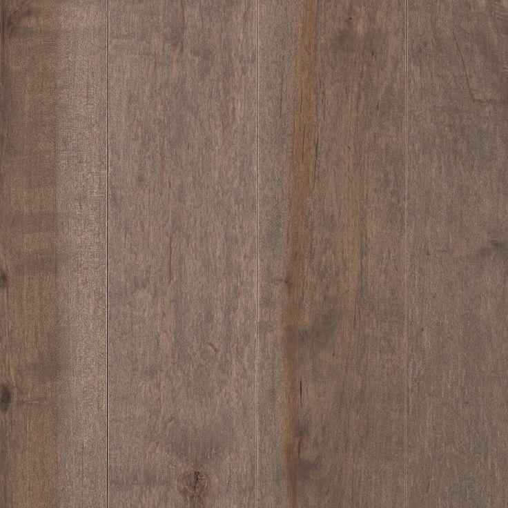 "Solid Hardwood Flooring - Randhurst Collection - Flint / Maple / 5"" / Flat Finish"