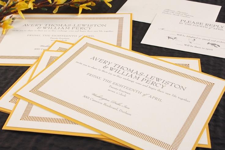 Wedding Invitations William Arthur: 35 Best Images About Wedding & Shower Invitations On