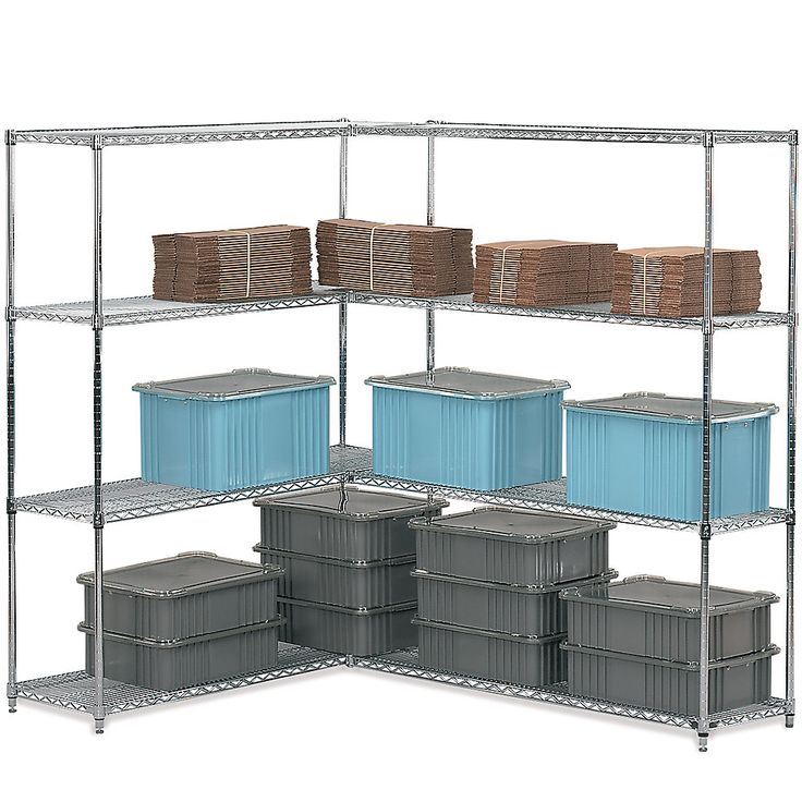 The 111 best Wire Shelving images on Pinterest | Wire shelving, Wire ...