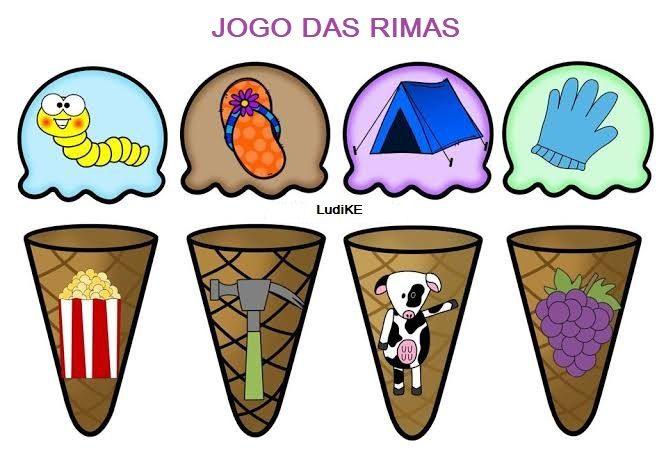 Jogo Das Rimas Em 2021 Jogos De Rimas Atividades De Rima Rimas