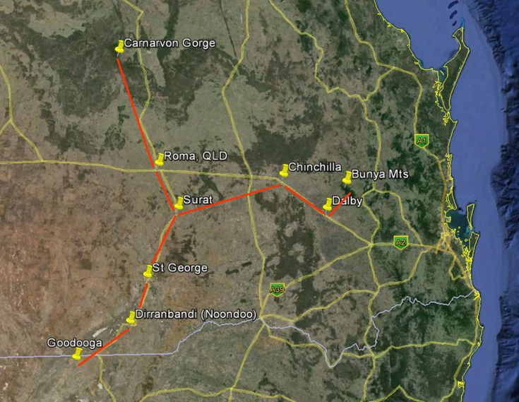Aboriginal people have been using the stars to help remember routes between distant locations, and these routes are still alive in our highway networks today.