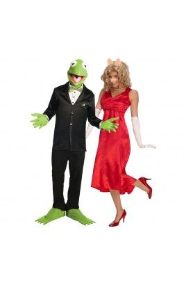 Kermit and Miss Piggy Costume (Muppets) Image