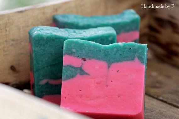 Rose jasmine handmade soap by HandmadebyFotini on Etsy