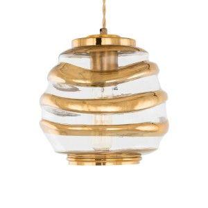 Lampa sufitowa ANANTA miodowa wisząca Italux AD20004-1