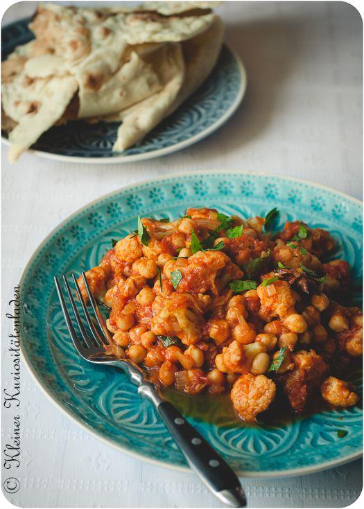 Kleiner Kuriositätenladen: Blumenkohl-Kichererbsen-Curry