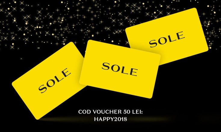 SoleShop.ro – 50 de lei voucher cadou.