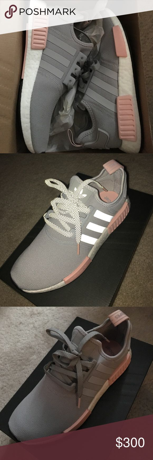 Adidas nmd_R1 W Grey pink vapor nmd Adidas Shoes Athletic Shoes