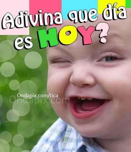Adivina qué día es hoy? #viernes #FinDeSemana #weekend #humor