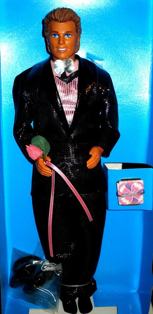 My ONLY boy Barbie (whose head didn't fall off) - Sparkle Surprise Ken by Barbie Creations, via Flickr