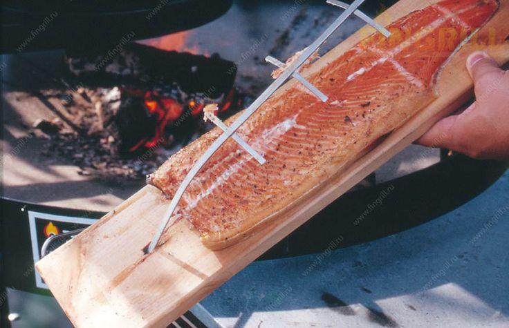 лосось на гриле барбекю FIngrill