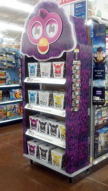 Furby Endcap Display