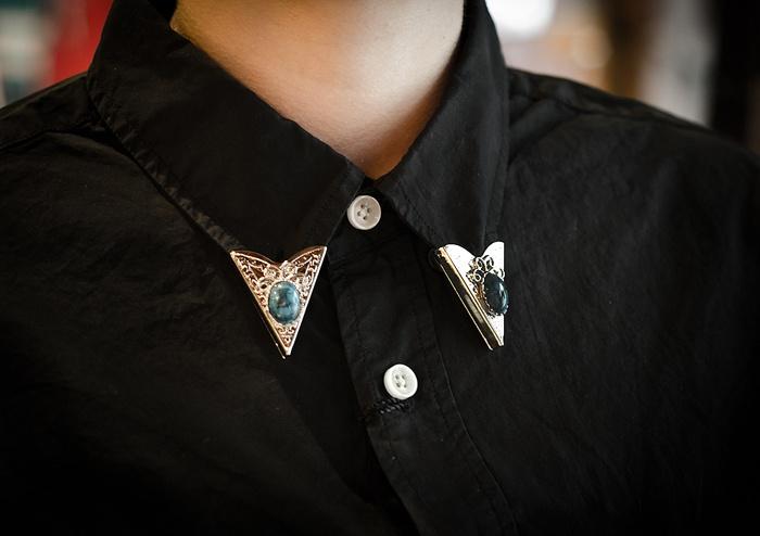 #shirt #silver: Collars, Tips, Shirts Silver