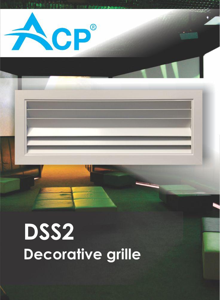 DSS2 Decorative Ventilation Grille (Grila de Ventilatie Decorativa)   | #hvac | #acp | #manufacturer | #ventilation | #products | #romania
