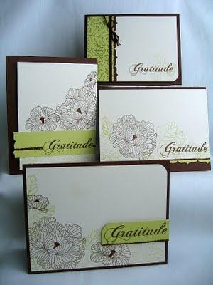 PTI in bloom Mailes Belles Set of cards