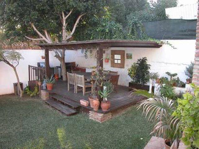 konsep dapur outdoor semi terbuka luar ruangan rumah 010