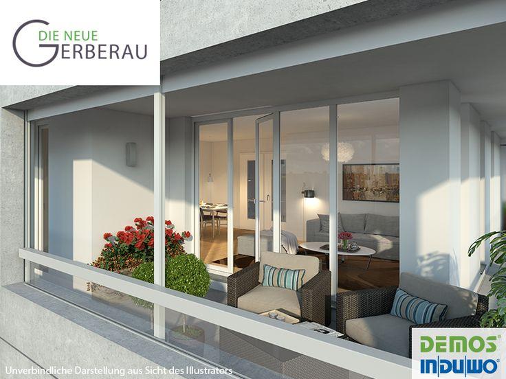 top loggia die neue gerberau allach mnchen with loggia ideen. Black Bedroom Furniture Sets. Home Design Ideas