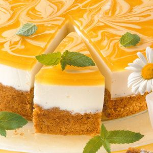 Dickmilch-Torte