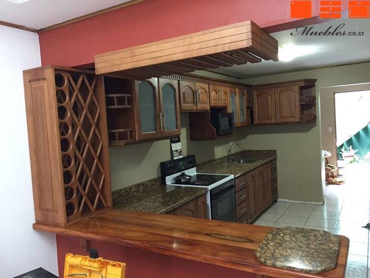 37 best muebles de cocina con desayunador images on pinterest kitchen units kitchen ideas and - Mueble barra cocina ...