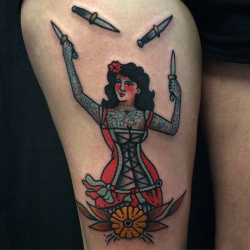 fuckyeahtattoos: done in Berlin at Kreuzstich tattoo by Jorge Ramirez instagram.com/jorgeramireztattoo www.tattookreuzstich.de