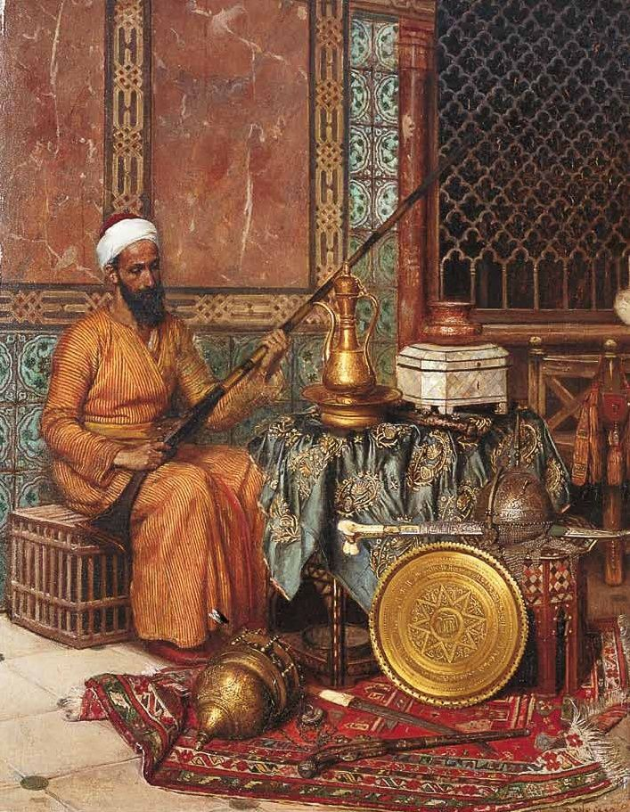"Emil Rudolf Weiss (German, 1875 - 1942)  ""The merchant of oriental curiosities"""
