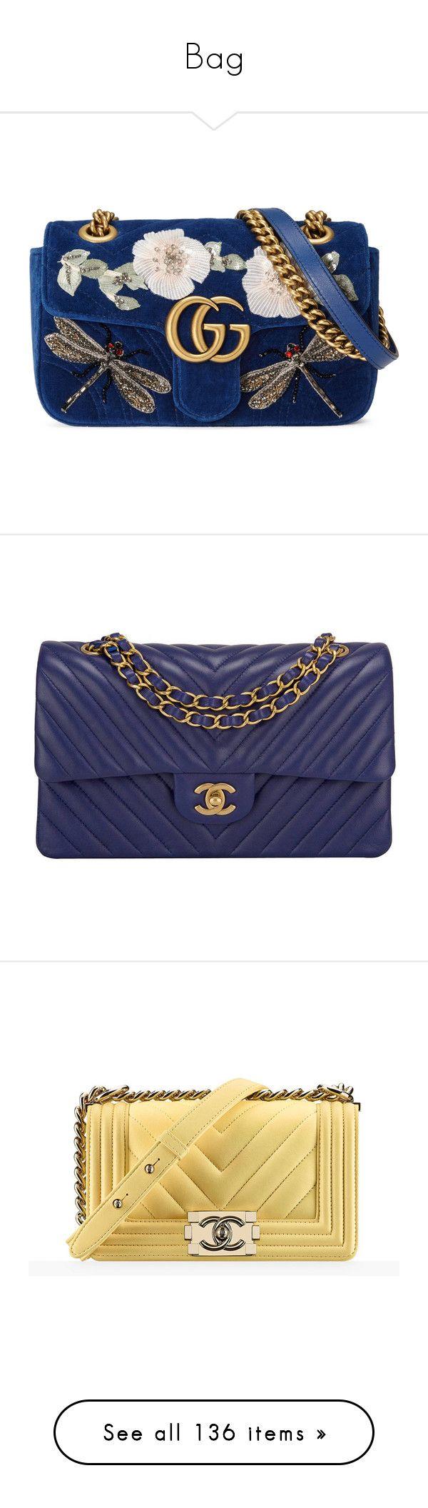 """Bag"" by xxsasaxx ❤ liked on Polyvore featuring bags, handbags, gucci, purses, bolsas, cobalt blue, shoulder bags, women, handbag purse and man bag"