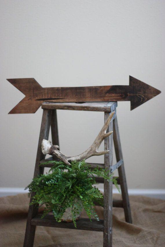 Rustic Wooden Arrow Arrow Decor Nursery Decor by RSquaredWoodworks