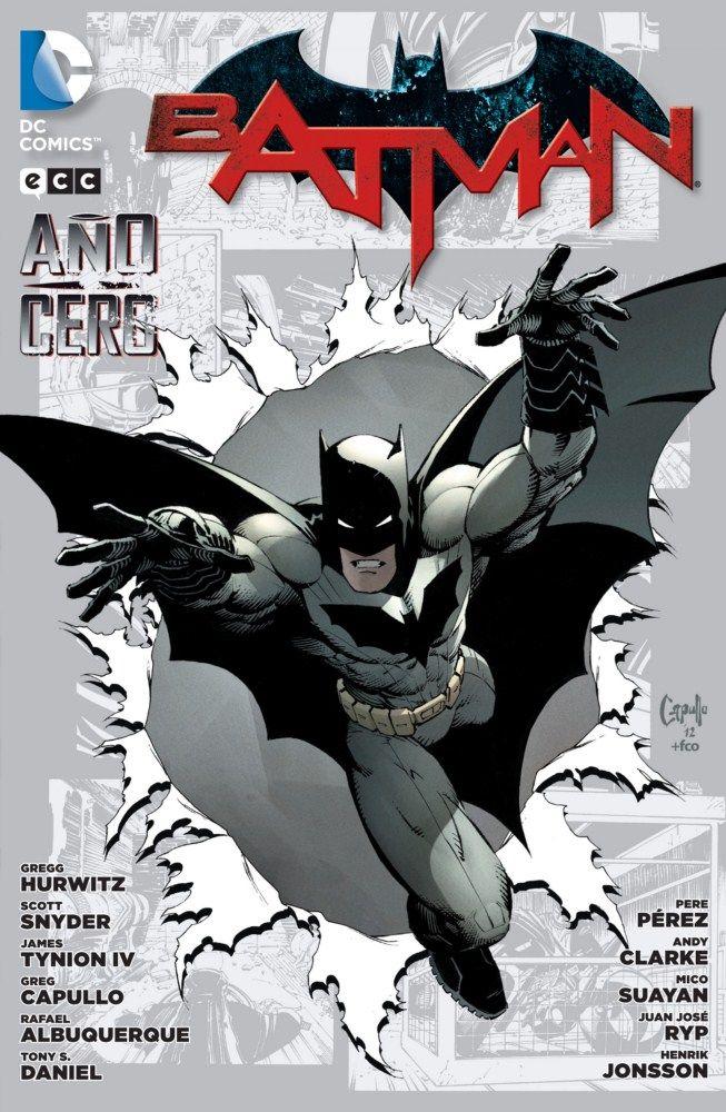 Batman: Año cero (segunda edición) - ECC Ediciones