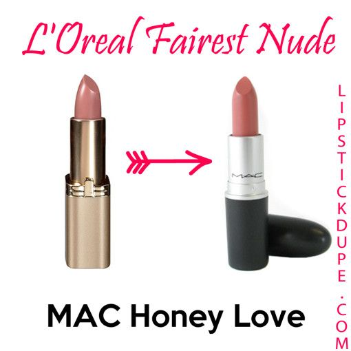mac honeylove lipstick dupe - photo #8