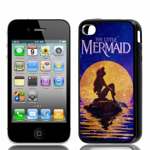 The little mermaid nebula Iphone 44s5 Samsung Galaxy by RestuCase, $15.00