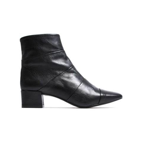 Newton Black Leather