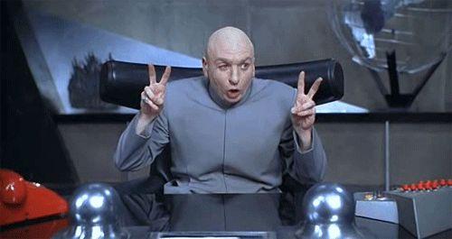 Dr. Evil Air Quotes   Know Your Meme