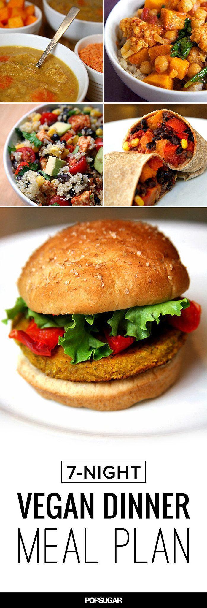 7-Day Vegan Meal Plan