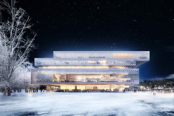 Chipperfield Among 3 Competing for Stockholm's Nobel Prize Headquarters