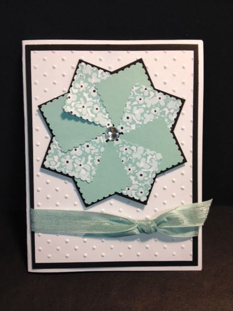 """My Creative Corner!: Faux Pinwheel Stamping Technique 