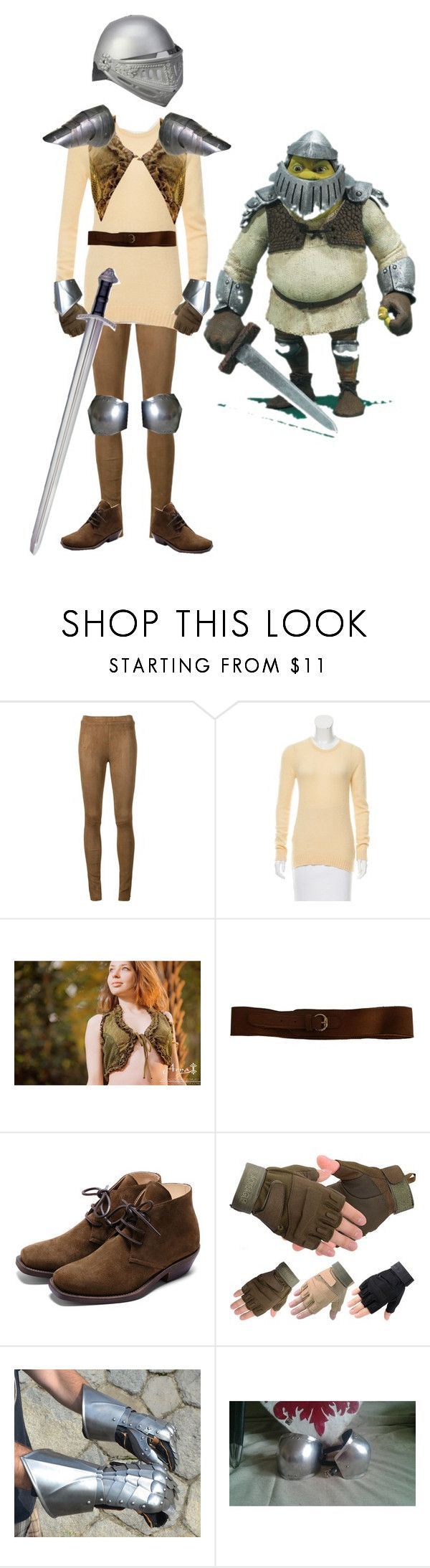 """""""What kind of knight ARE you?"""" by thatgalaxygreaser ❤ liked on Polyvore featuring Beau Souci, Golden Goose, LES COMPOSANTES, Rupert Sanderson, men's fashion, menswear and shrek"""