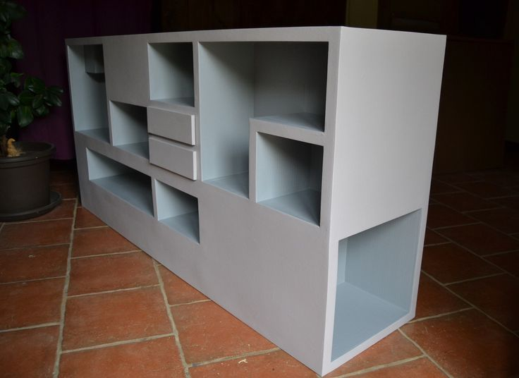 34 best Consoles en carton images on Pinterest Cardboard furniture - meuble vide poche design