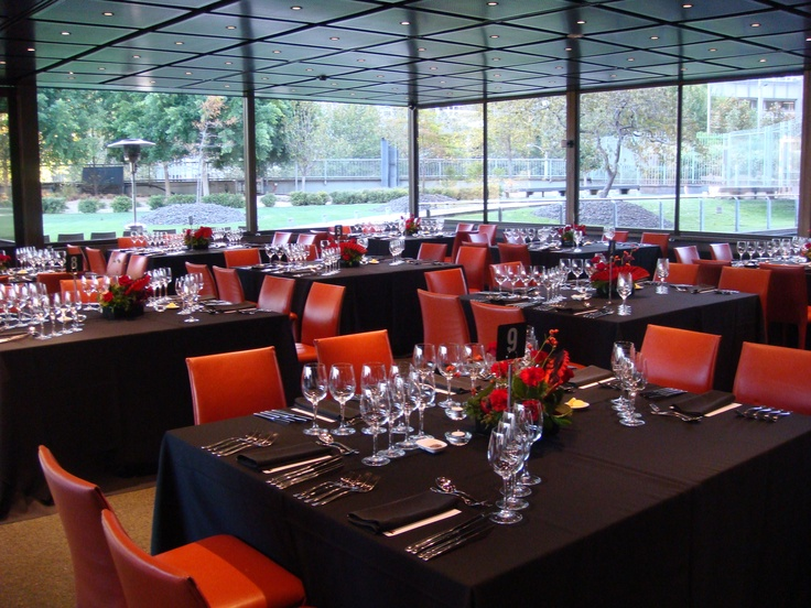 Persimmon restaurant at the National Gallery of Victoria - by Peter Rowland Catering