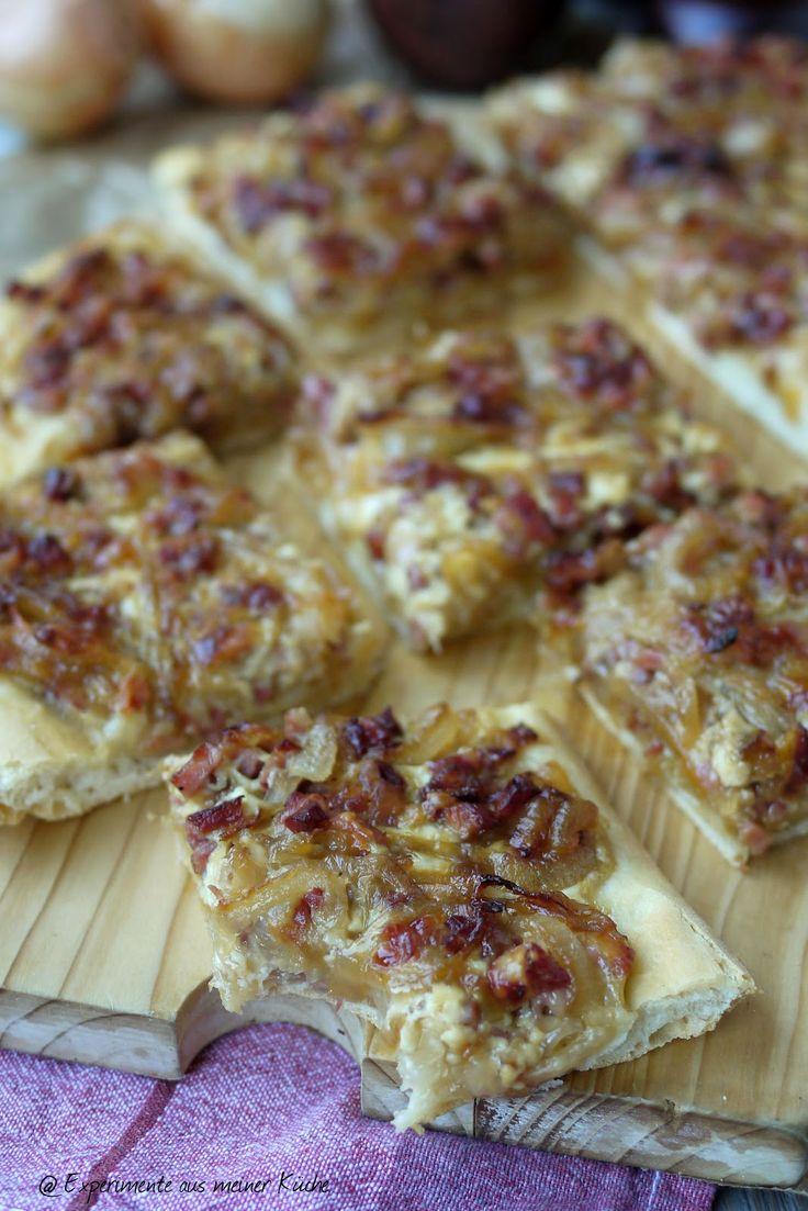Experimente aus meiner Küche: Zwiebelkuchen vom Blech