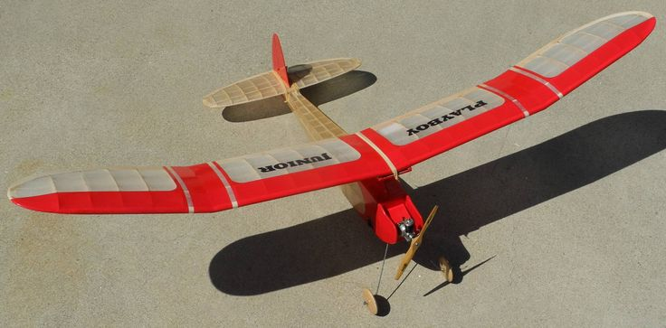 Vintage Balsa Wood Planes Model Had A Successful First