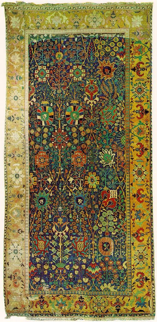 "A Shah Abbassi design rug, late 16th century, Corcoran Gallery of Art, Washington D.C."" ----- ""A fragment of a Safavid carpet, Shah Abbassi design, Juseph V."