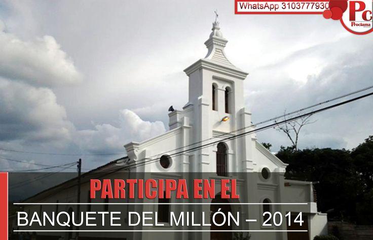 Banquete del Millón – 2014: Parroquia de la Santísima Trinidad – Santander de Quilichao [http://www.proclamadelcauca.com/2014/11/banquete-del-millon-2014-parroquia-de-la-santisima-trinidad-santander.html]
