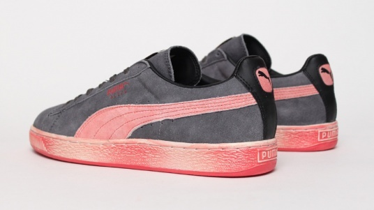 Puma Suede Washed - Red