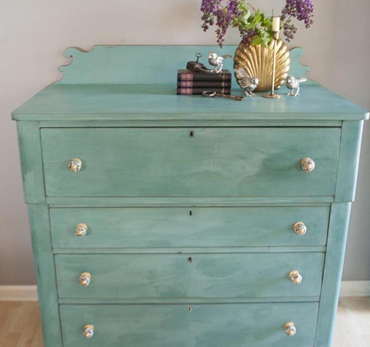M s de 10 ideas fant sticas sobre muebles de pintura de for Pintura para muebles efecto tiza