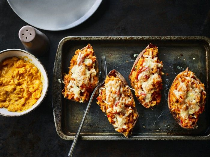 Loaded Sweet Potato Skins / The Body Coach Blog / The Body Coach