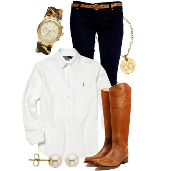 Classic & Preppy, created by qtpiekelso on Polyvore