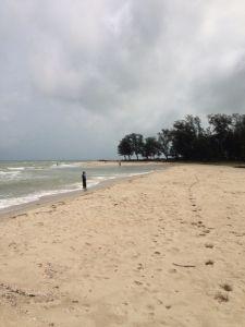 Beautiful Beach in Hat Yai, Malaysia