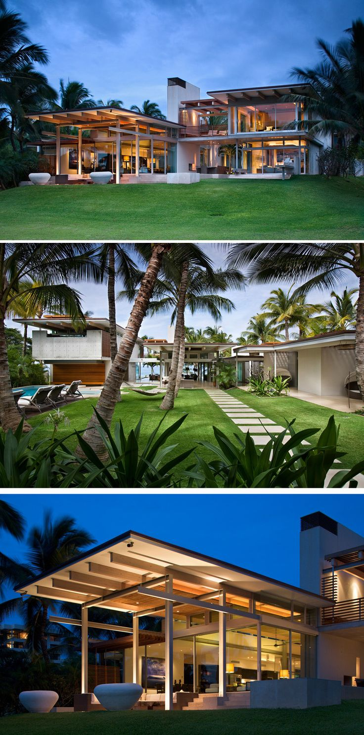Bossley Architects Have Designed A Home On The Hawaiian Island Of Maui,  That Is Made