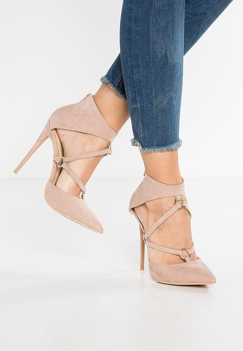 Missguided HARNESS DETAIL COURT - High heels - nude for £34.99 (09/07/17) with free delivery at Zalando